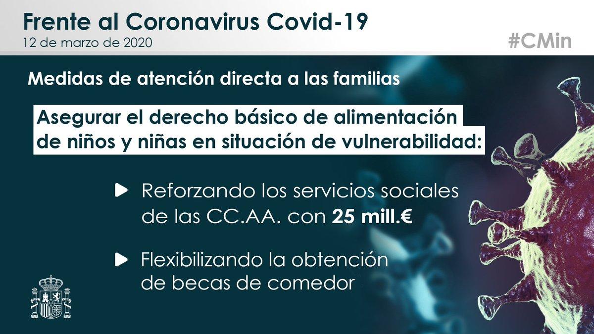 covid19, familias, infancia, vulnerable, cierre, colegios, derecho alimentación, españa, alto comisionado, gobierno