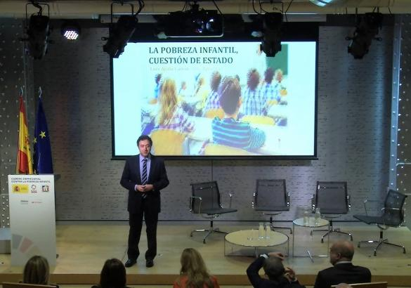 Luis Ayala, pobreza infantil, España, Cumbre de empresas, alto comisionado