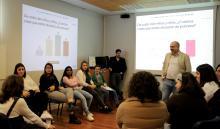 Sesión de trabajo con el Grupo asesor de niños y niñas del Congreso Ciudades Amigas de la Infancia