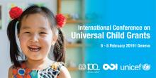 Conferencia internacional sobre transferencias universales para niñas y niños